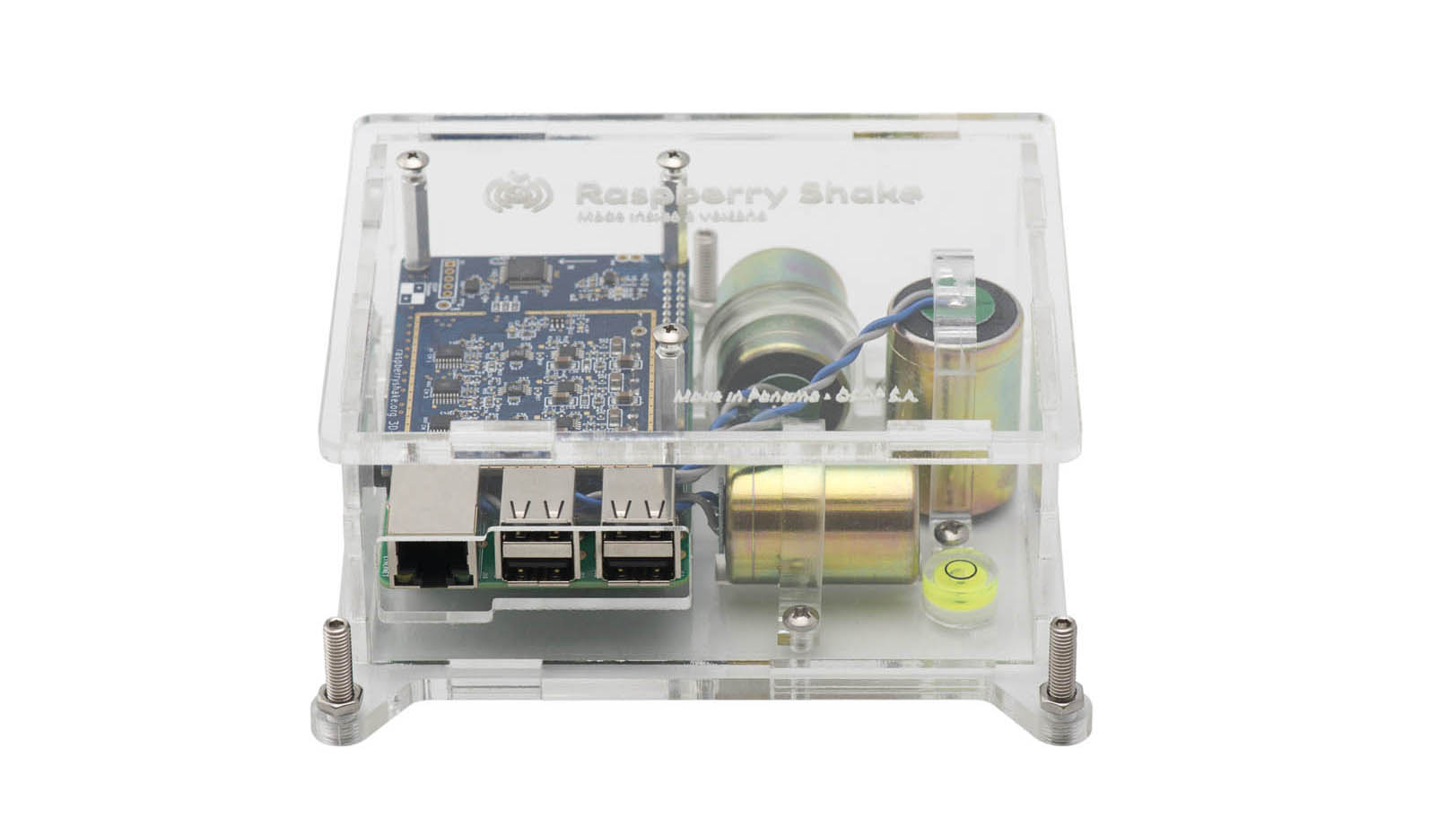 "Raspberry Shake 3D ""Pi-Full"" Kit"