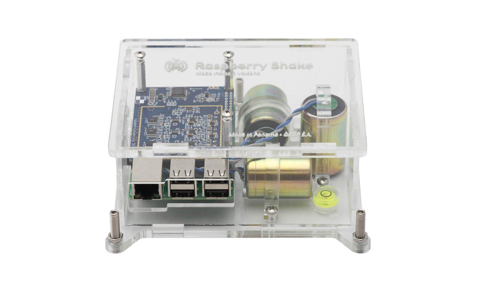 """Raspberry Shake 3D """"Pi-Full"""" Kit"""