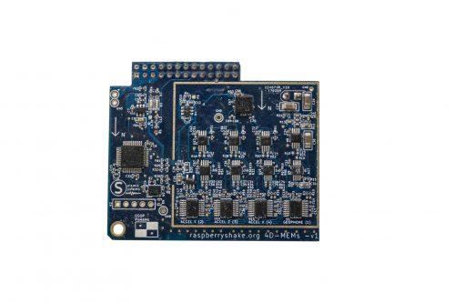 Raspberry Shake 4D Board