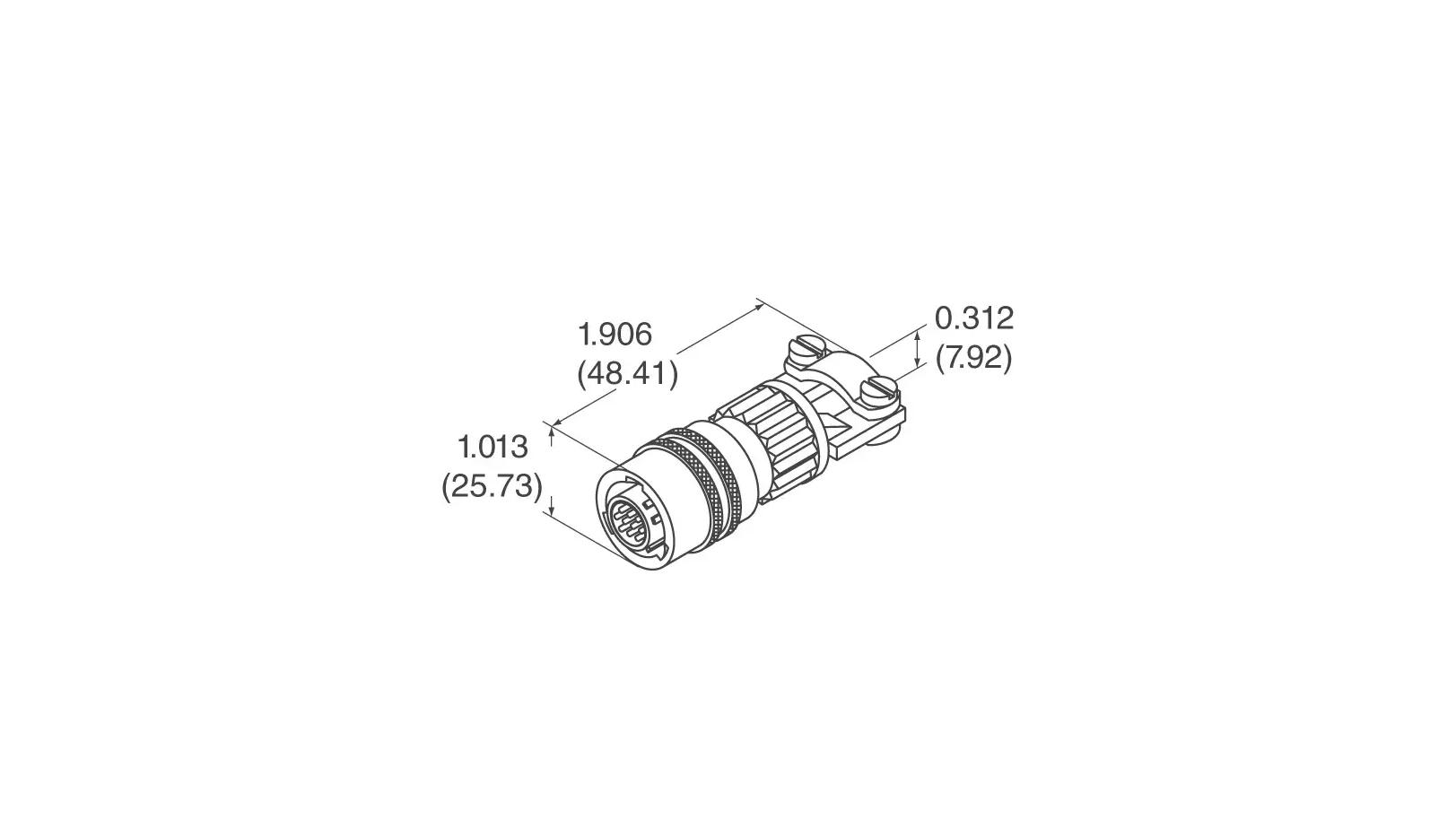 Sensor Connector for Raspberry JAM - Dimensions