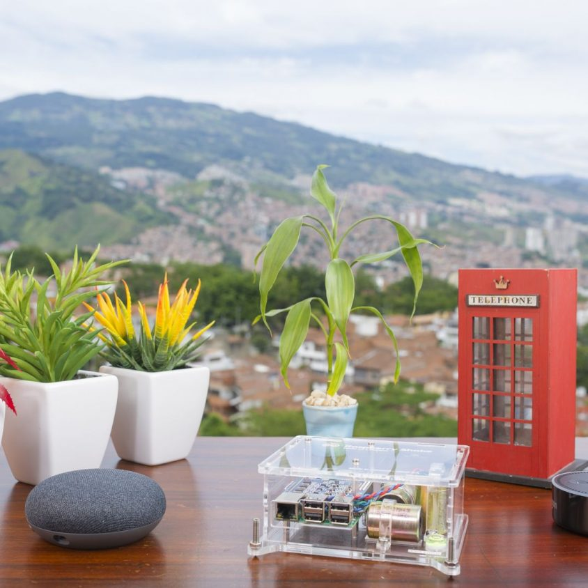 Turnkey IoT Home Earth Monitor RS 3D with great Mountain