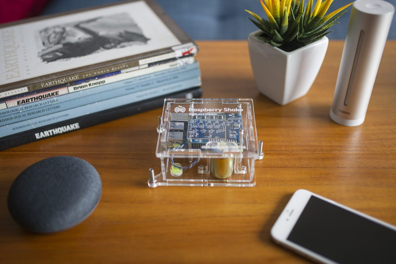Turnkey IoT Home Earth Monitor RS 4D at Lounge Coffee Table